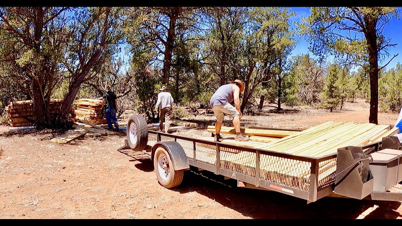OFF-GRID STARTER KIT - RECLAIMED WOOD for Cabin - 10K Pounds of SOLID GOLD!
