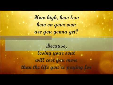Ryan- Glitter and Gold- Lyrics (Cover)