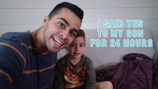 I Said Yes to My Son For 24 Hours | David Lopez