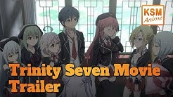 Trinity Seven - Movie (Trailer Deutsch)
