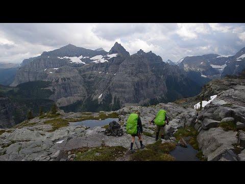 Backpacking Glacier National Park:  Kintla Lake, Boulder Pass, Hole in the Wall, Bowman Lake