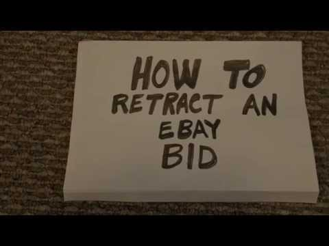 E BAY BID RETRACTION Fastest Way, Highest Success Rate
