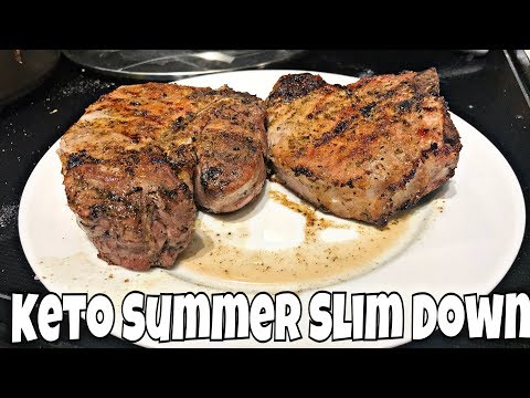 Keto Summer Slim Down Day 21 | Amazing Pork Chops & I'm Letting Y'all Down