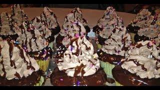 Best Chocolate Cupcakes With Ganache- Cake Decorating
