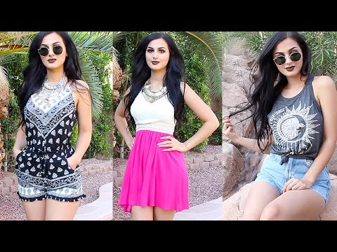 SUMMER CLOTHING HAUL 2016 TRY ON!