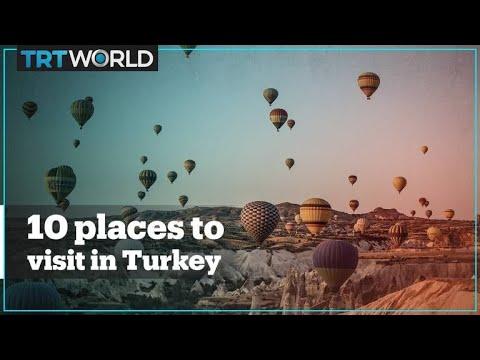 Top 10 destinations to visit in Turkey