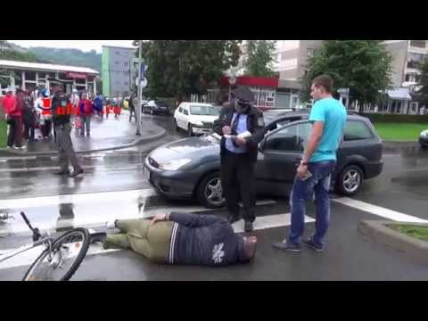Accident cu biciclist in Govandari pe Republicii 24 iun