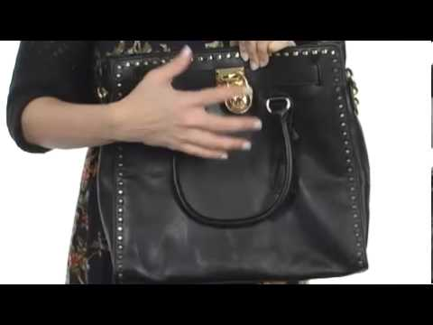 8f79b8a5fbe1 MICHAEL Michael Kors Hamilton Whipped North/South Large Tote SKU : #  8038719 - YouTube