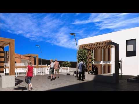 Así será el nuevo centro cultural de Buzanada