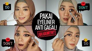 vuclip Cara Cepat Anti Gagal! Pakai Eyeliner Pensil, Cair, Spidol + 4 Makeup Looks | Do & Donts