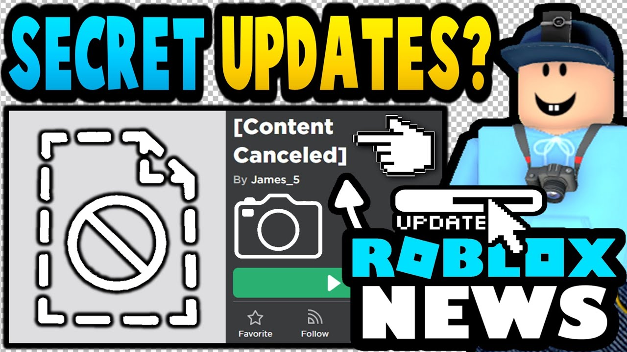 Roblox Added NEW Updates & Then DELETED THEM!? (ROBLOX NEWS)