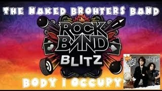 The Naked Brothers Band - Body I Occupy - Rock Band Blitz Playthrough (5 Gold Stars)