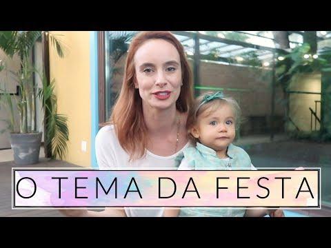 O TEMA da festa + Decoração #MaelleFazFesta | COM NAIUMI GOLDONI #trocandofigurinhas