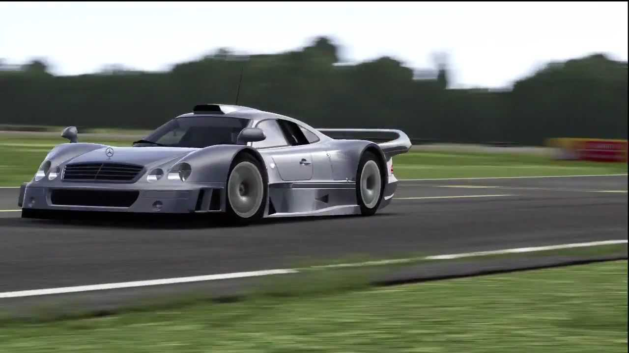 Mercedes Benz Amg Clk Gtr Top Gear Track Youtube