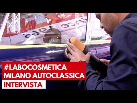 Labocosmetica a Milano AutoClassica 2018   Gli esperti in azione