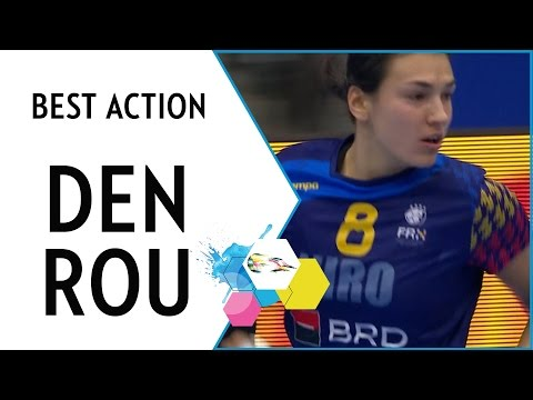 Neagu scores with beautiful spinshot | EHF EURO 2016