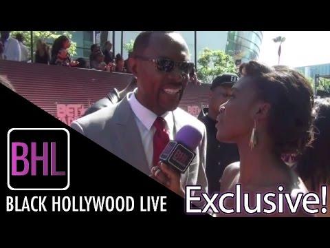 Richard Brooks @ BET Awards Red Carpet  Black Hollywood Live