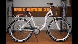 """ОБЗОР Городской велосипед 26"""" АРДИС Vintage"""