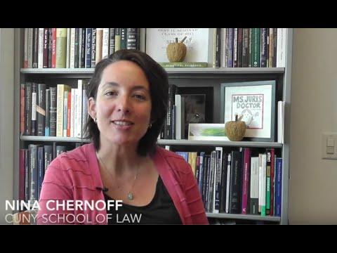 Juvenile Law Center alumna: Nina Chernoff