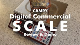 Camry Digital Commercial Scale Review and Demo