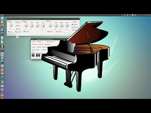 Setting up Virtual MIDI Piano Keyboard (VMPK)