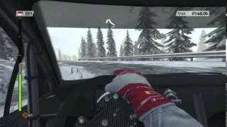WRC 4 PC gameplay - rally Monte Carlo, Col De Turini stage