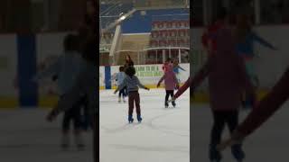 Ice skating horror