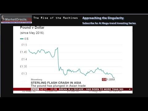 British Pound Sterling Flash Crash and the Rise of Machine Intelligence (AI)