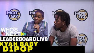 Nailah Blackman, Kyah Baby & VP of Urban Promotions at Atlantic Records Visits Leaderboard Live!