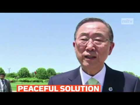mitv - UN Secretary General Ban Ki-moon offeres mediation on Ukraine