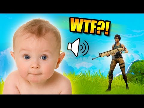 BABY VOICE TROLLING! *WTF?!* | Fortnite Battle Royale Funny Moments
