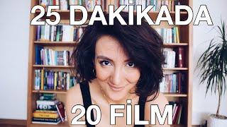 25 DAKİKADA 20 FİLM
