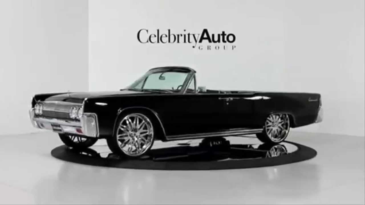 lincoln continental convertible 1963 youtube. Black Bedroom Furniture Sets. Home Design Ideas