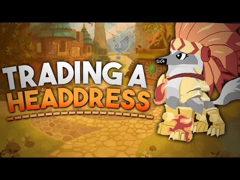 how to get a headdress on animal jam without trading