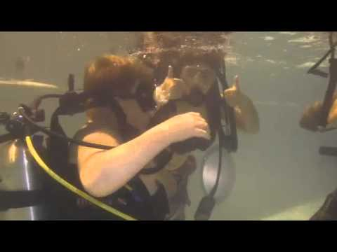 Scuba Diving with Action Scuba Montreal and Pointe-Claire Scouts
