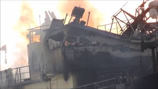 San Diego Bay Boat Fire (Part 2) 9/29/2017