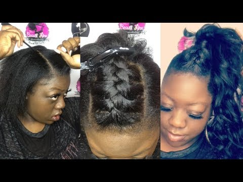 Ponytail French Braid