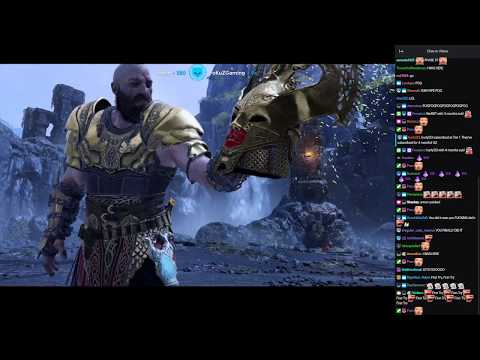 LIRIK Vs VALKYRIE QUEEN SIGRUN (God Of War Difficulty) 349 TRIES  - Full Fight With Chat