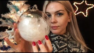 ASMR RP | Christmas Shop 🎄 Roleplay Boutique de Noël ~ Tapping, Scratching for Sleep