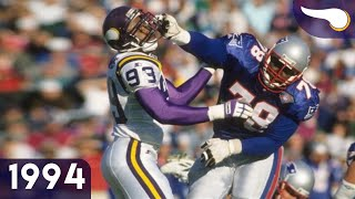 Bledsoe Airs it Out - Vikings vs. Patriots (Week 11, 1994) Classic Highlights