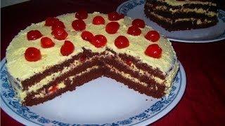 How To Make A Black Forest Gâteau Cake