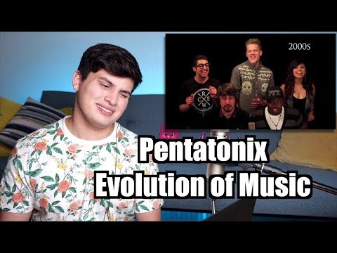 Vocal Coach Reaction to Pentatonix - Evolution of Music