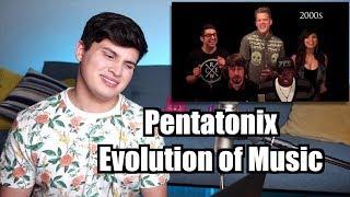 Vocal coach Tristan Paredes reacts to Pentatonix Evolution of music...