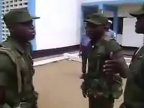 Slapping competition in Ghana Army