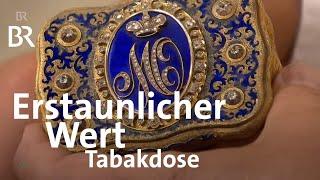 Überraschend wertvoll: Goldene Tabakdose aus der russischen Zarenfamilie   Kunst + Krempel