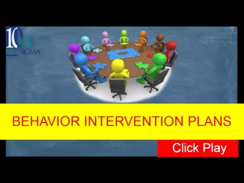 Behavior Intervention Plan Or Bip Special Education Episode  Of