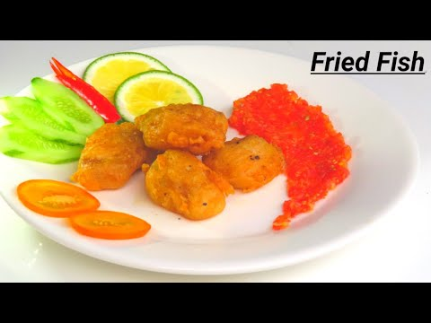 Yummy Fried Fish With Rice Flour And Tomato Sauce Recipe - DEO Countryside