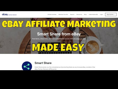 "Affiliate Marketing w/ eBay Partner Network – New ""Smart Share"" Tool is a Game Changer"