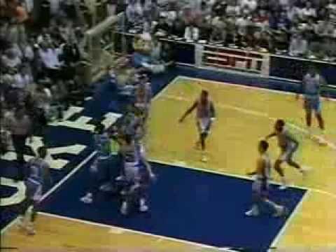 01/19/1991:  #5 North Carolina Tar Heels At #12 Duke Blue Devils