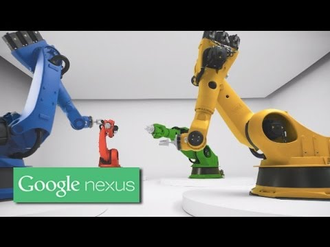 Nexus S from Google: Robotic Charm